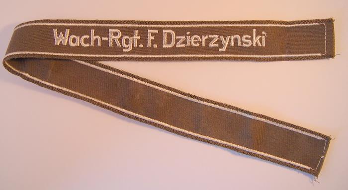 wachregiment feliks dzierzynski